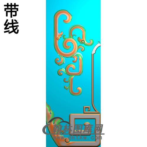 八宝脚精雕图(HJ-037)