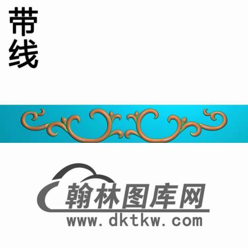 TJYB-1268-沙发牙板精雕图(YB-085)