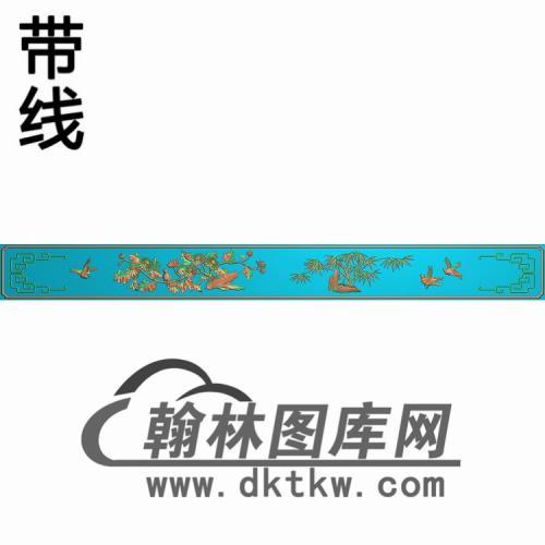 TJYB-1297-牙板精雕图(YB-105)