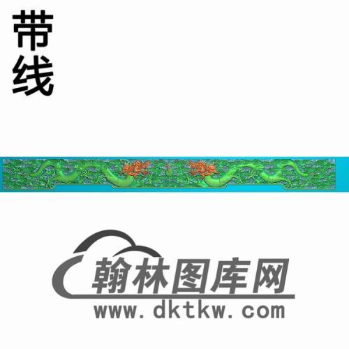 TJYB-1306-云龙牙板精雕图(YB-108)