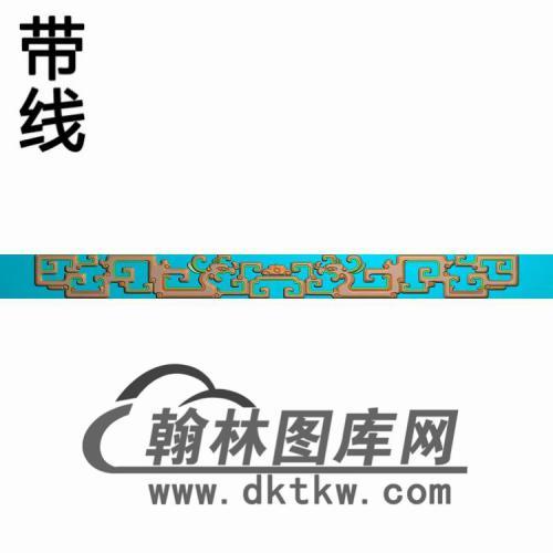 TJYB-1308-中堂花几牙短精雕图(YB-110)
