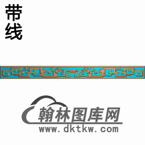 TJYB-1309-中堂花几牙长精雕图(YB-111)