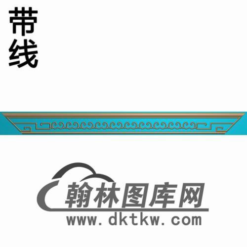 TJYB-1311-清风牙小上精雕图(YB-113)