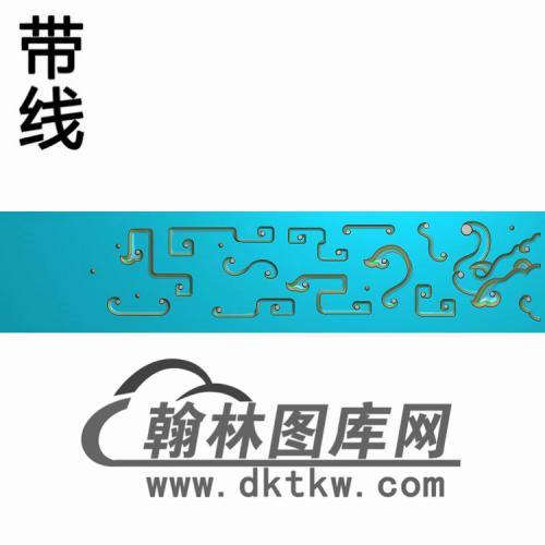 TJYB-1325-几上琴板精雕图(YB-123)