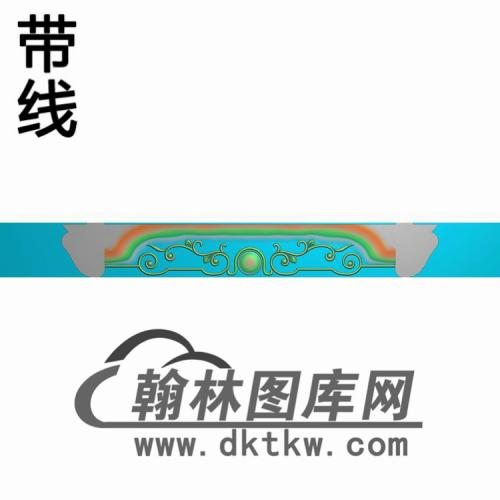 TJYB-1338-山羊餐椅群板460--60精雕图(YB-129)