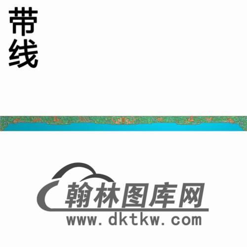 TJYB-1352-大如意长沙发正琴板精雕图(YB-134)