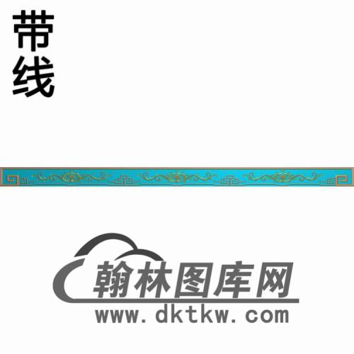 TJYB-1356-吉祥牙长精雕图(YB-136)