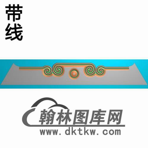 TJYB-2017宝座茶几牙板精雕图(YB-137)