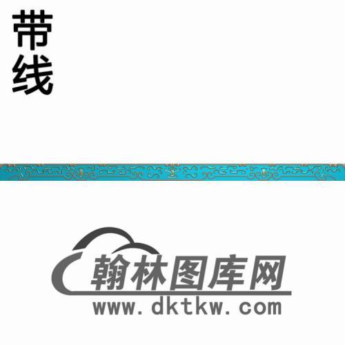 YX--6008古同大望板精雕图(YB-150)