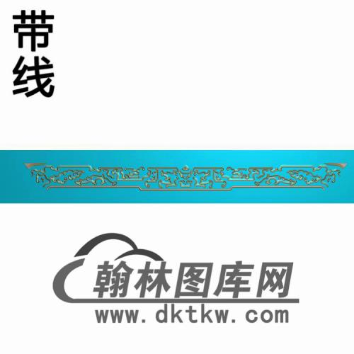 YX--6010桌琴板短1212精雕图(YB-152)