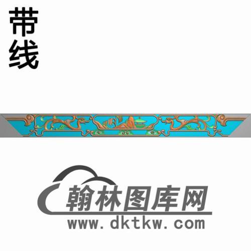 YX-008-束腰475-42精雕图(YB-147)