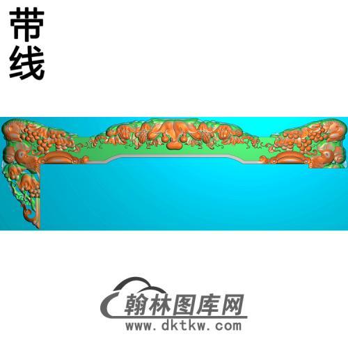 短椅脑精雕图(YN-055)