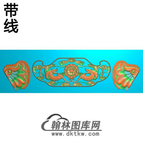 福禄寿沙发大象椅脑精雕图(YN-059)