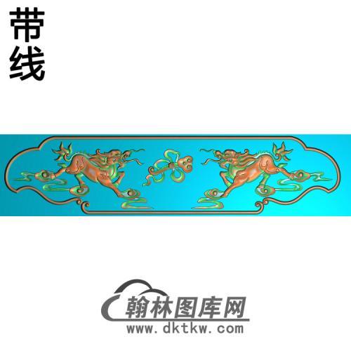 福禄寿椅脑精雕图(YN-061)