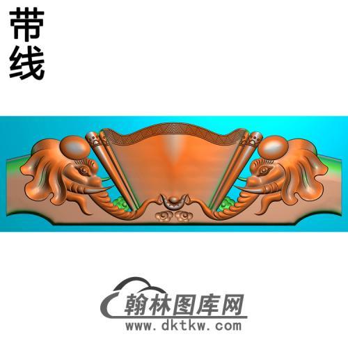 红宝轩象精雕图(YN-062)
