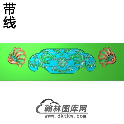 象改椅脑精雕图(YN-069)
