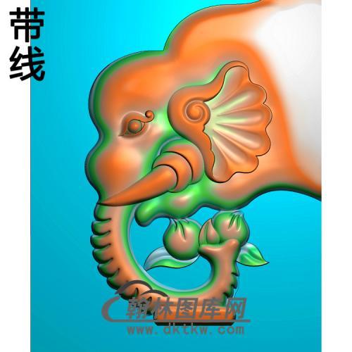 象头精雕图(YN-070)