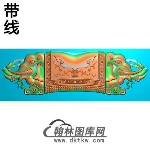 象头短椅脑110H精雕图(YN-071)