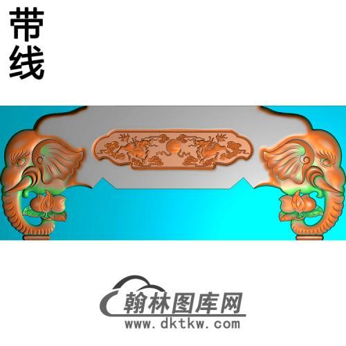 象头脑精雕图(YN-072)
