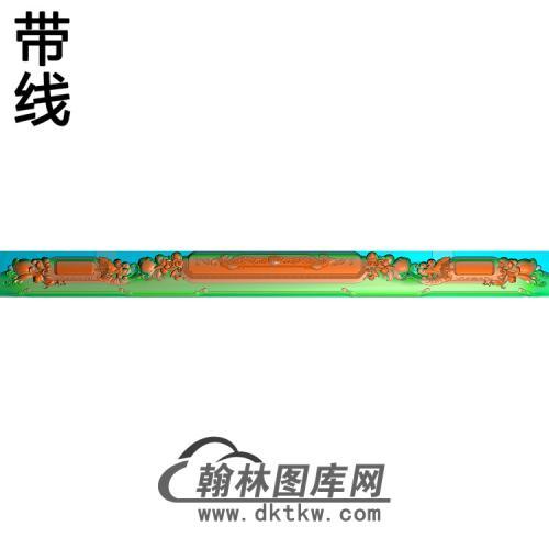 椅脑长精雕图(YN-087)