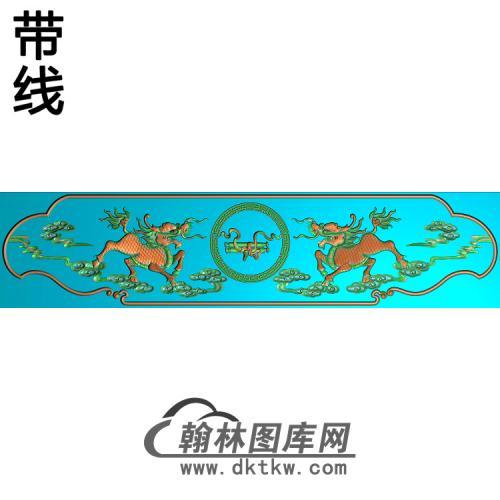 中华椅脑精雕图(YN-092)