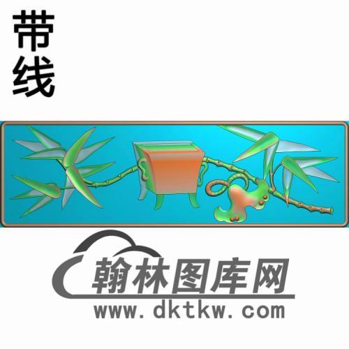 CDB-205-抽斗板精雕图(CTM-008)