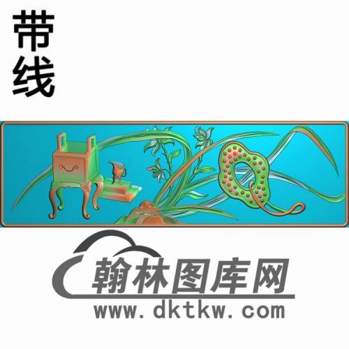 CTKS-003-58页柜子抽斗板3精雕图(CTM-015)