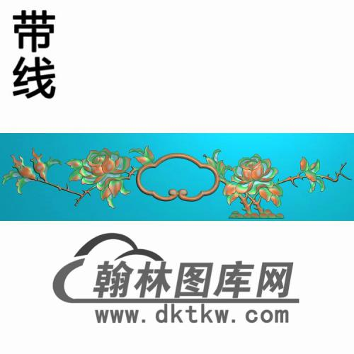 CTKS-206-抽斗板精雕图(CTM-020)