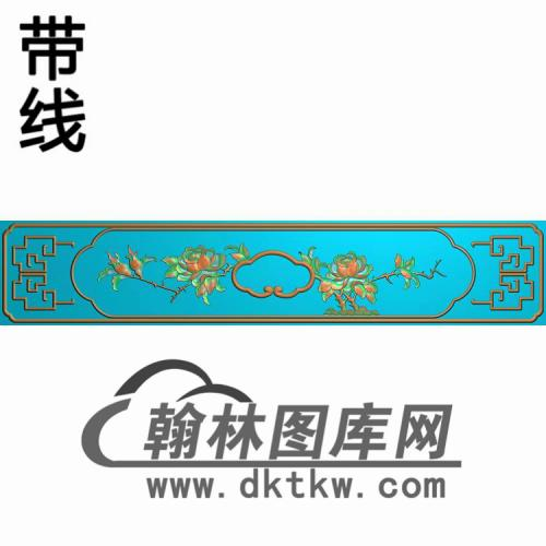 CTKS-208-抽斗板精雕图(CTM-022)