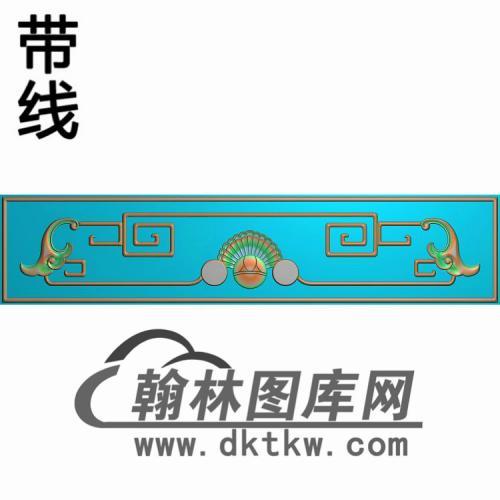八宝沙发小花精雕图(CTM-072)