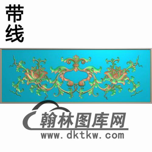 床头柜大精雕图(CTM-080)