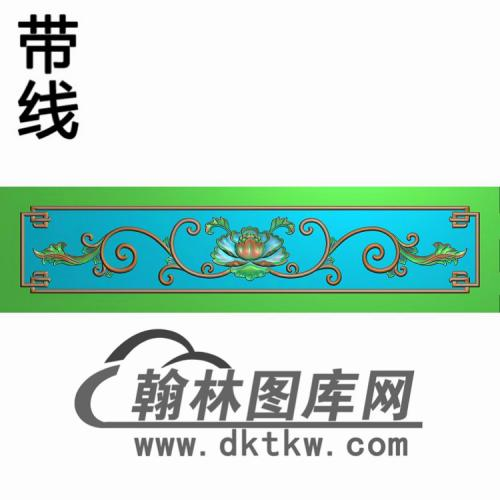 牡丹洋花413-85精雕图(CTM-085)