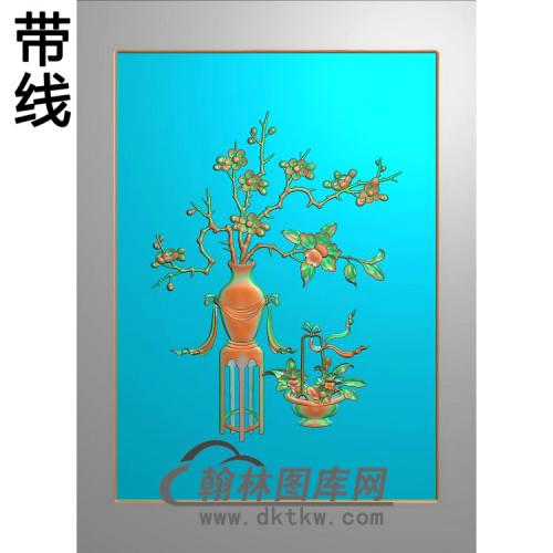 MH-5018-梅花   有线精雕图(MHP-010)
