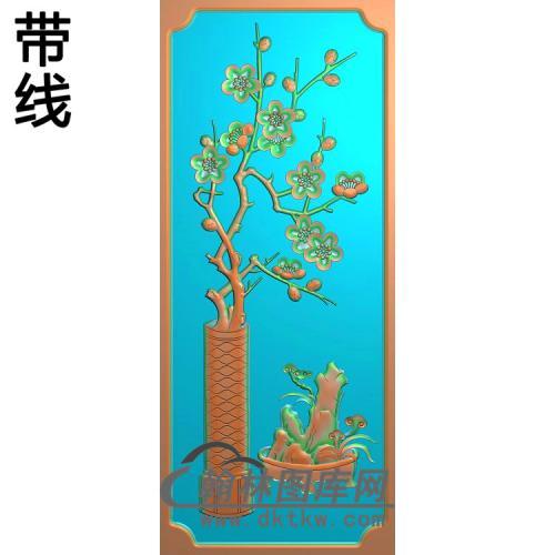 梅花 (4)精雕图(MHP-023)