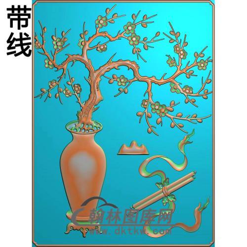 梅花442X327_21精雕图(MHP-025)