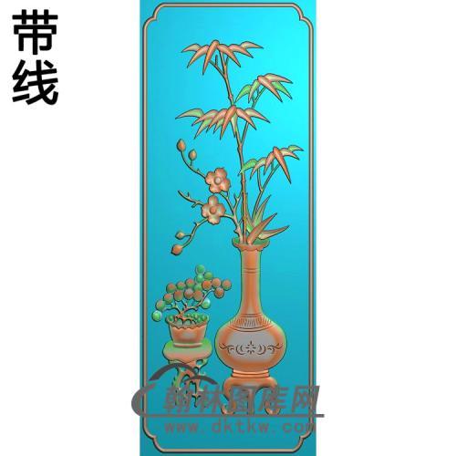 竹花小精雕图(zzP-007)