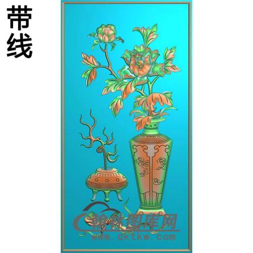 HP-005-花瓶3精雕图(MDP-013)