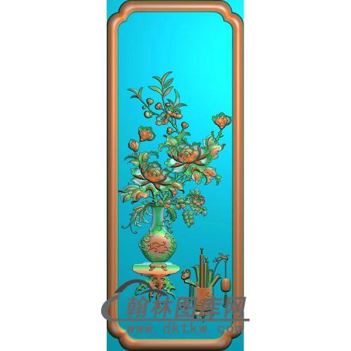 拉通万文花瓶精雕图(MDP-048)