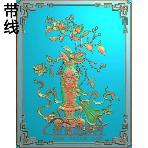 牡丹精雕图(MDP-049)