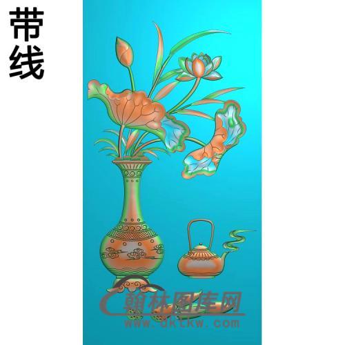 HP-004-花瓶4精雕图(HHP-007)