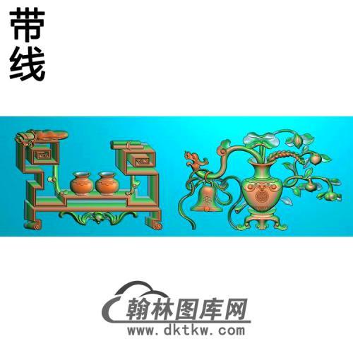 BGJ-452-花瓶精雕图(BGP-007)