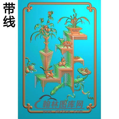 HD-070-花草动物系列精雕图(BGP-012)