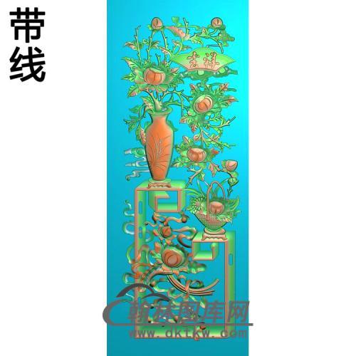 HP-003-博古花瓶精雕图(BGP-015)