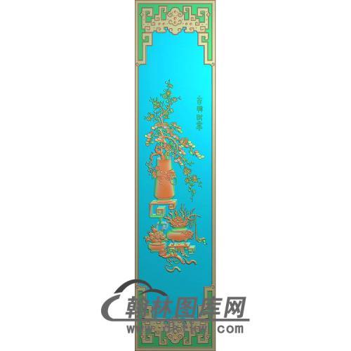 HP-011-花瓶松树wux精雕图(BGP-018)