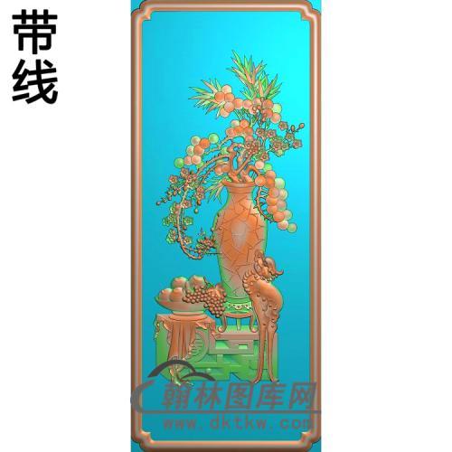 HP-7030 三友同春精雕图 185 438(BGP-024)