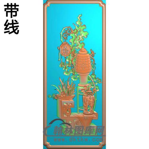 HP-7031平安吉祥精雕图(BGP-025)