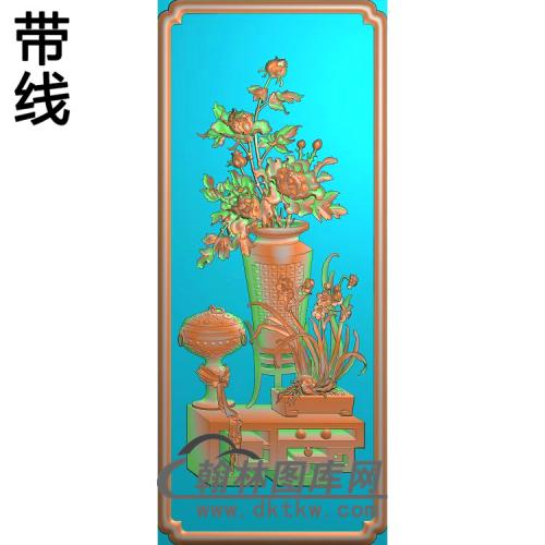 HP-7034神仙富贵精雕图(BGP-028)
