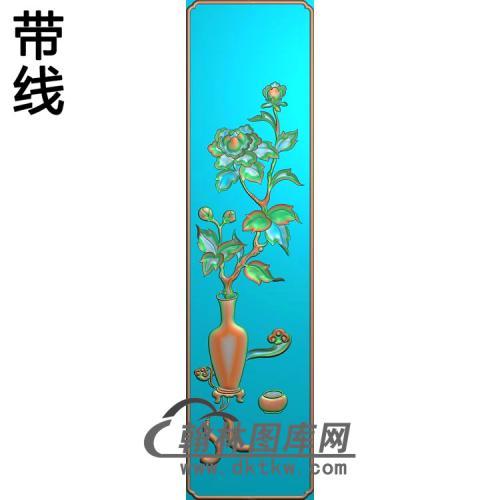 HP-466花瓶脚精雕图(QTP-041)