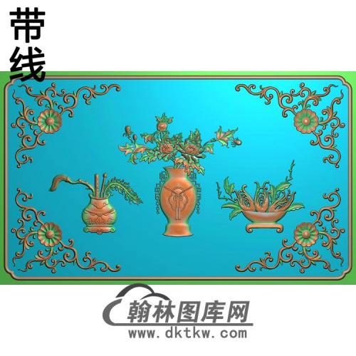 HP-476-花瓶精雕图(QTP-049)