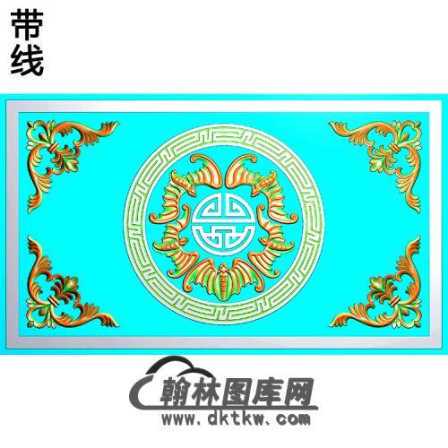 HD-090-花草动物系列精雕图(BF-575)